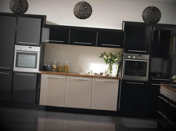 Armario-em-cozinha-preta
