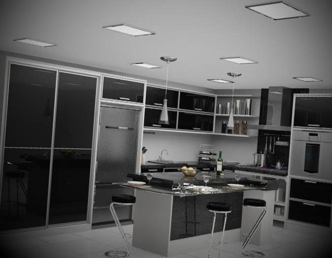 Cozinha-preta-uma-decoracao-sofisticada