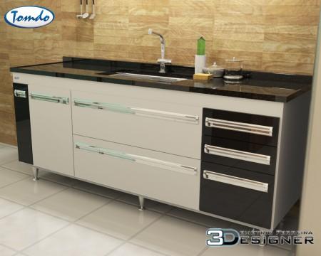Gabinete de Cozinha Elegance