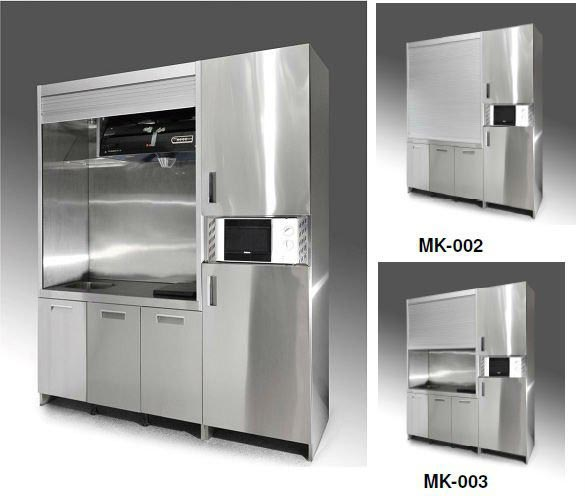 Stainless Steel Kitchen Cabinets In Ernakulam: Cozinhas Kitchnet Modernas