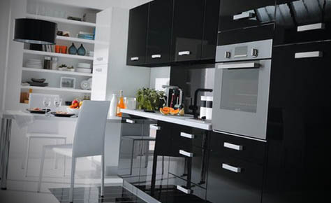 Modern-Black-Kitchen-Models