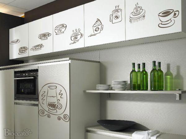 Adesivos decorativos para a cozinha