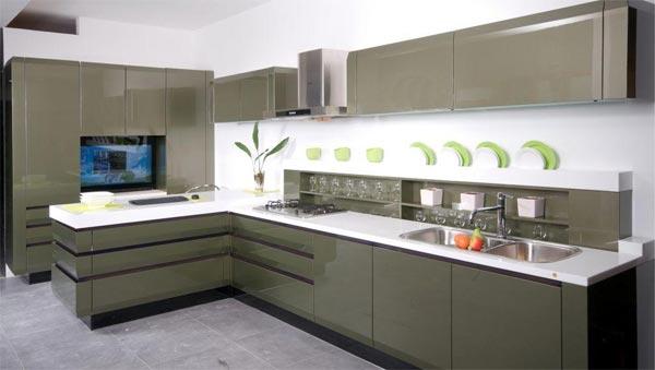 Artesanato Yutube ~ Como decorar armário para cozinha Cozinhas Decoradas