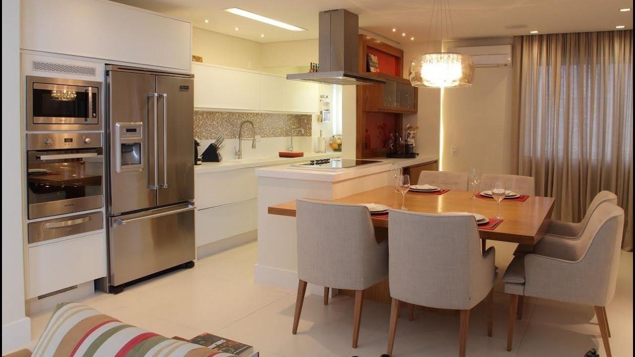 cozinha americana com sala 3
