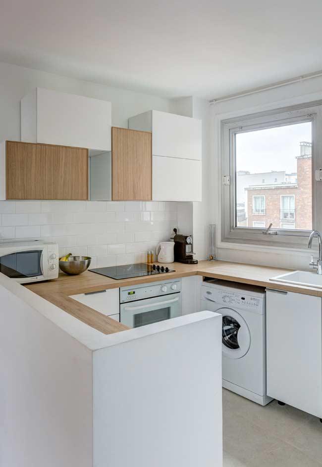 cozinha americana simples 2