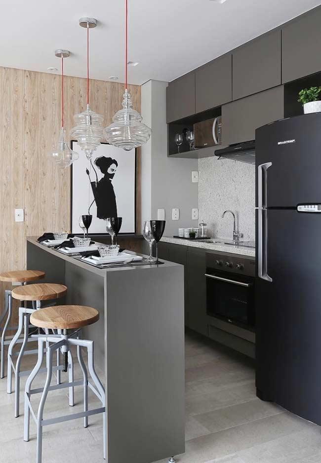 cozinha americana simples 3
