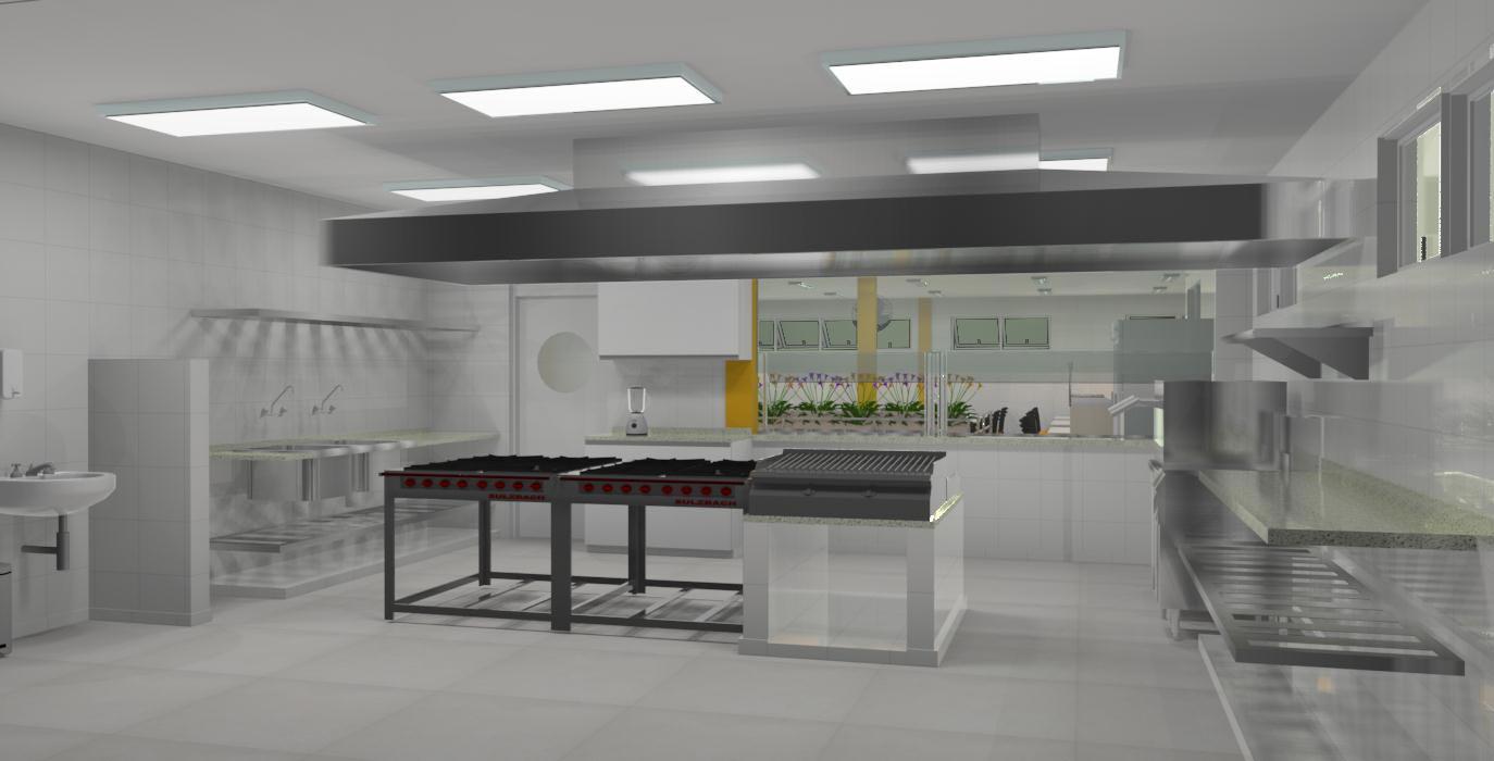 Cozinha Industrial Cozinhas Decoradas
