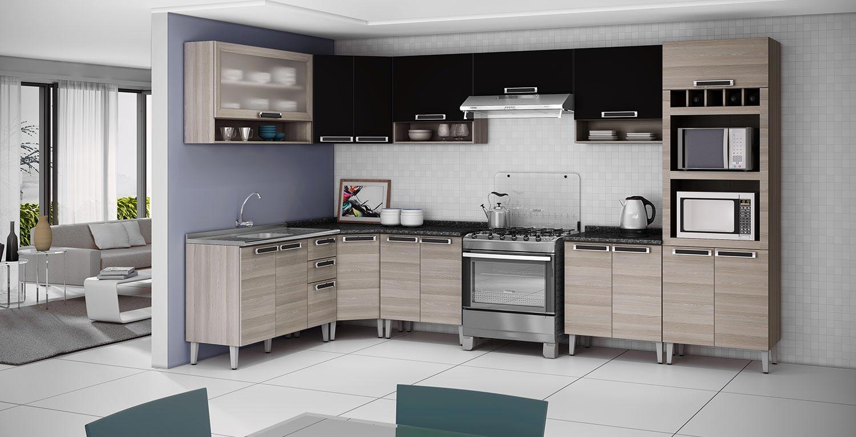 Como Montar Armario De Cozinha Itatiaia Diamante Cozinha Compacta