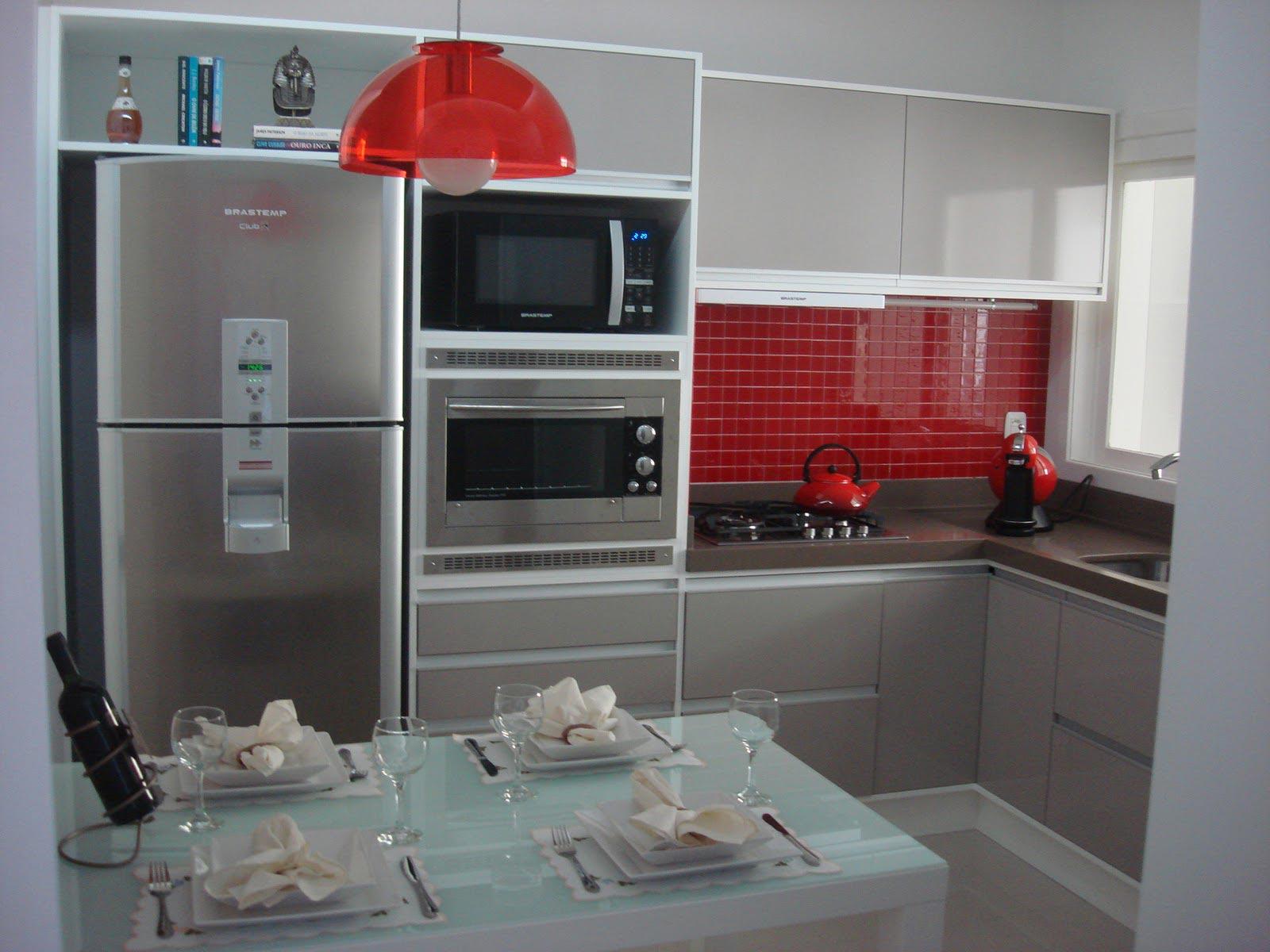 Cozinhas Kitchnet Modernas