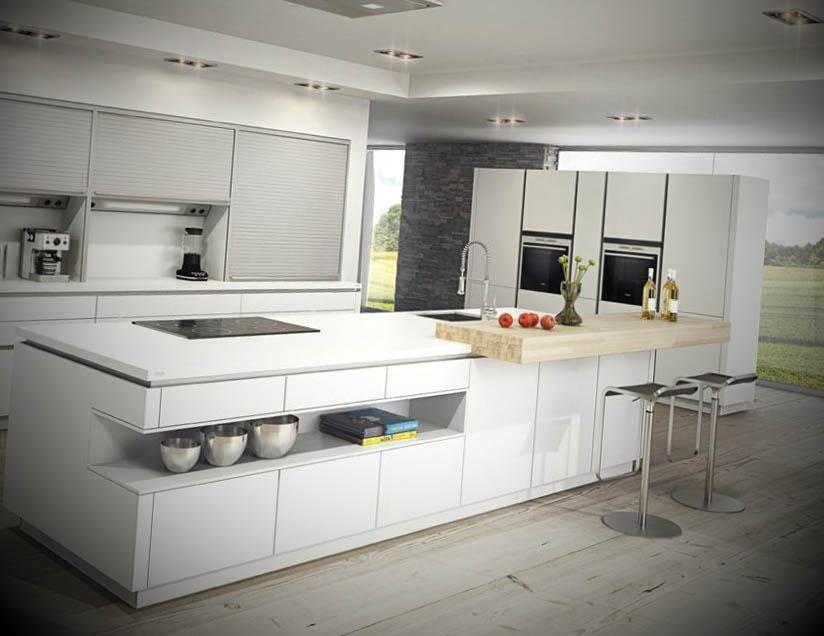 Ideias De Cozinha ~ 20 Ideias de cozinhas minimalistas Cozinhas Decoradas