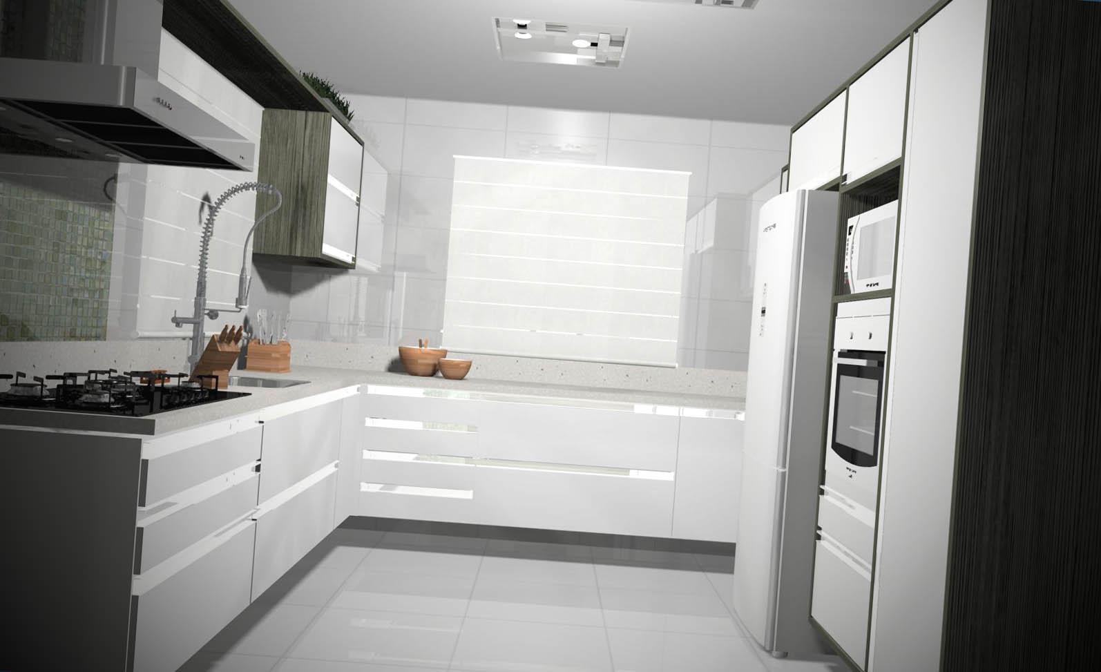 Projetos de Cozinhas Modernas Projetos de Cozinhas Modernas #826149 1594 973