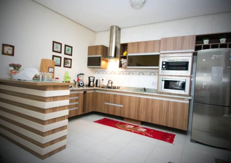 cozinha planejada decorada