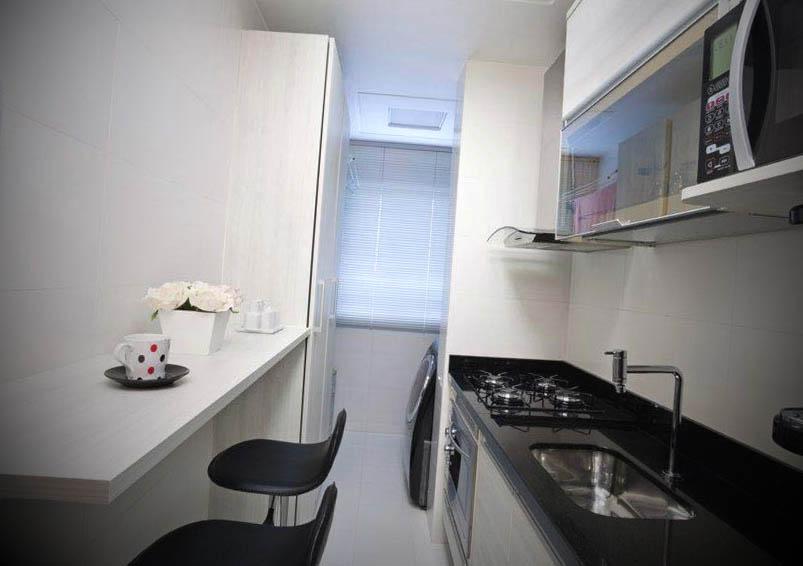 cozinha planejada para apartamento