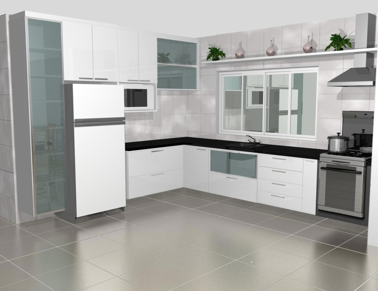 Cozinha Pequena Planejada Americana Oppenau Info