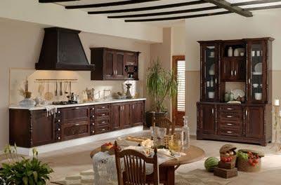 Cozinhas rústicas modernas