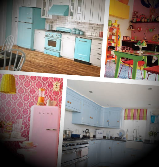 cozinhas decoradas vintage