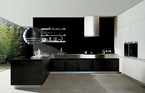 Cozinhas modernas com divisórias