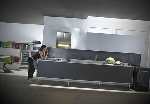 cozinhas futuristas