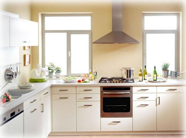 Cozinhas pequenas e modernas