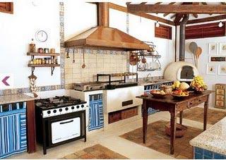 Decoração cozinhas rústicas