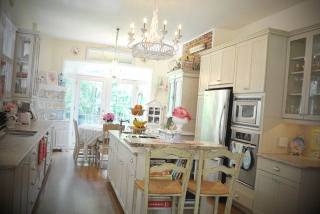 decoracao cozinha vintage