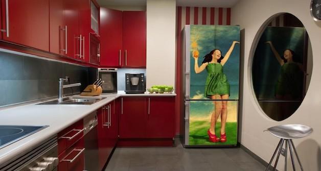 Decoração com geladeiras descoladas  Decoração com geladeiras descoladas  Decoração com geladeiras descoladas