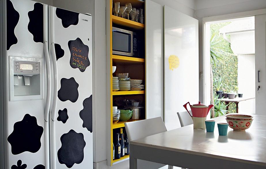 Decoração com geladeiras descoladas  Decoração com geladeiras descoladas  Decoração com geladeiras descoladas  Decoração com geladeiras descoladas