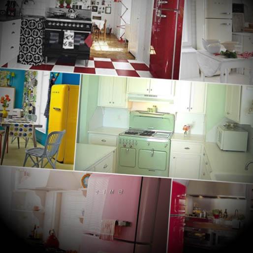 ideias cozinha vintage