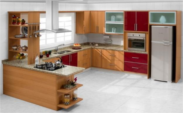 Ver Fotos De Armarios Para Cozinha : Ideias de cozinhas planejadas em l