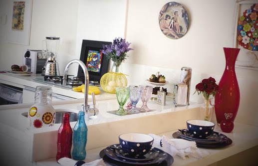 objetos para decoracao de cozinha